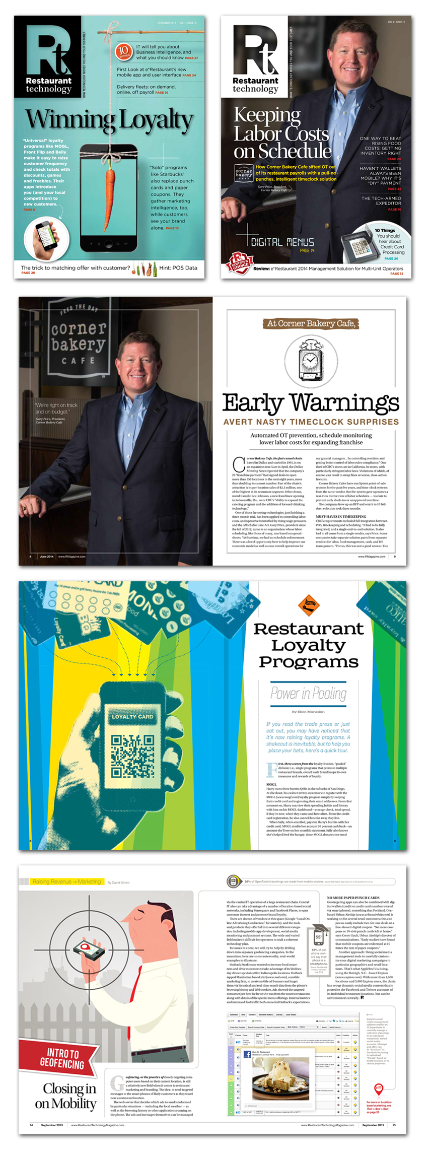 Restaurant technology magzines