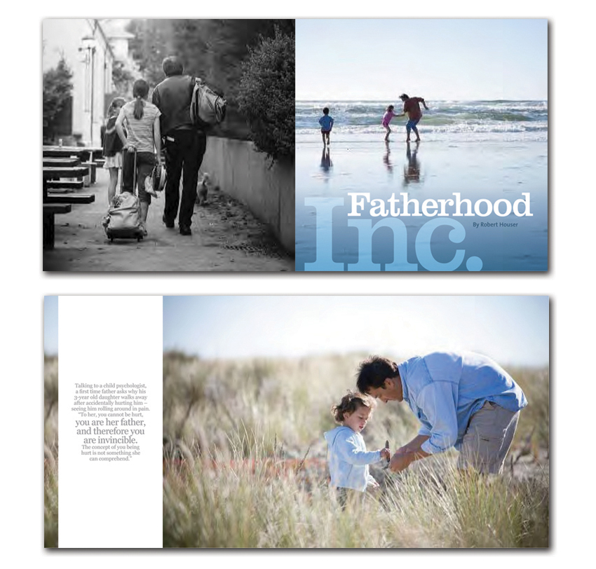 Robert Houser fatherhood book